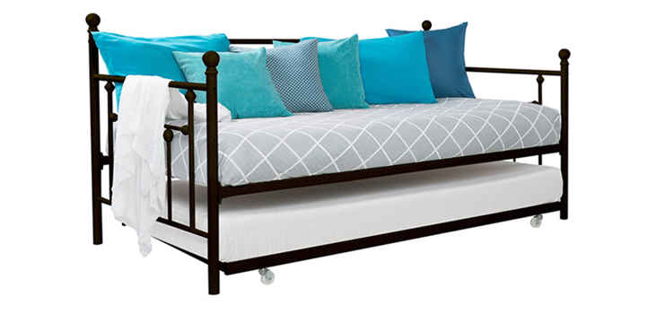 DHP Manila Twin Daybed and Trundle bronze
