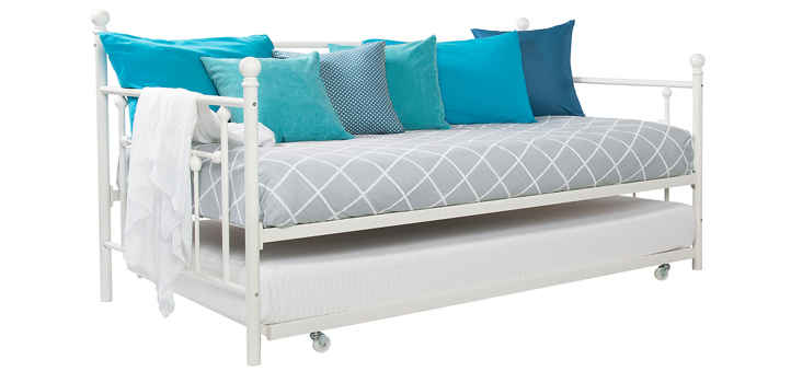 DHP Manila Twin Daybed and Trundle white