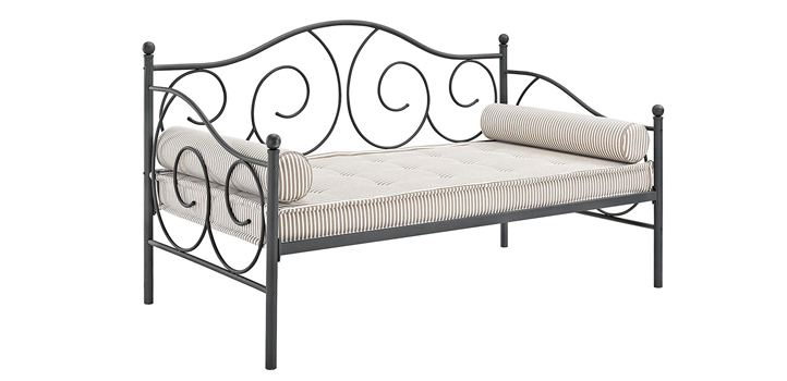 Dhp Victoria Metal Daybed Bronze